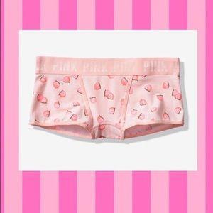 🍑Victoria's Secret Pink Logo Boyshort